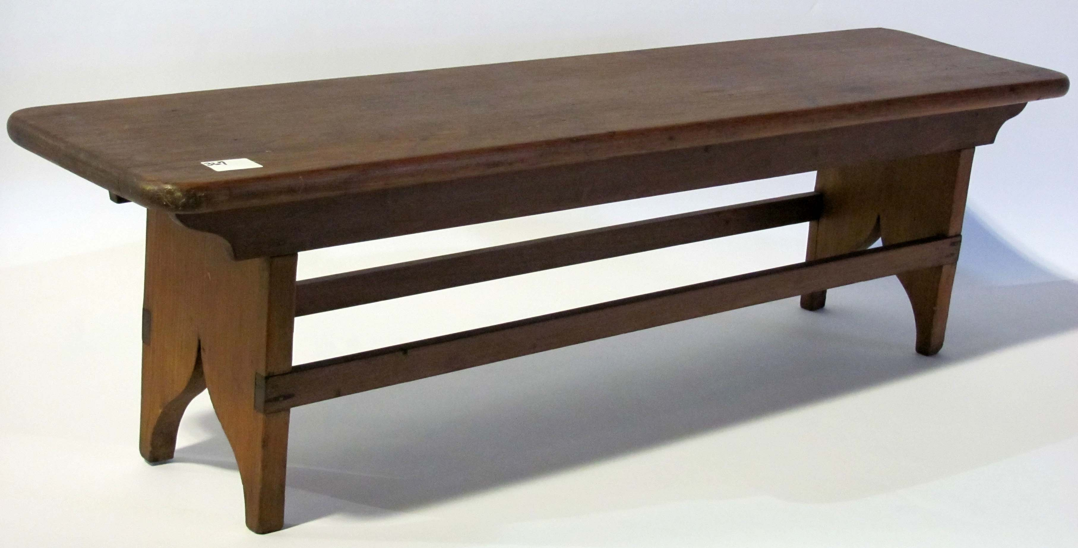 Shaker Bench With Back Benches